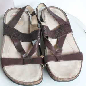 Rockport Tooled Leather Sandals